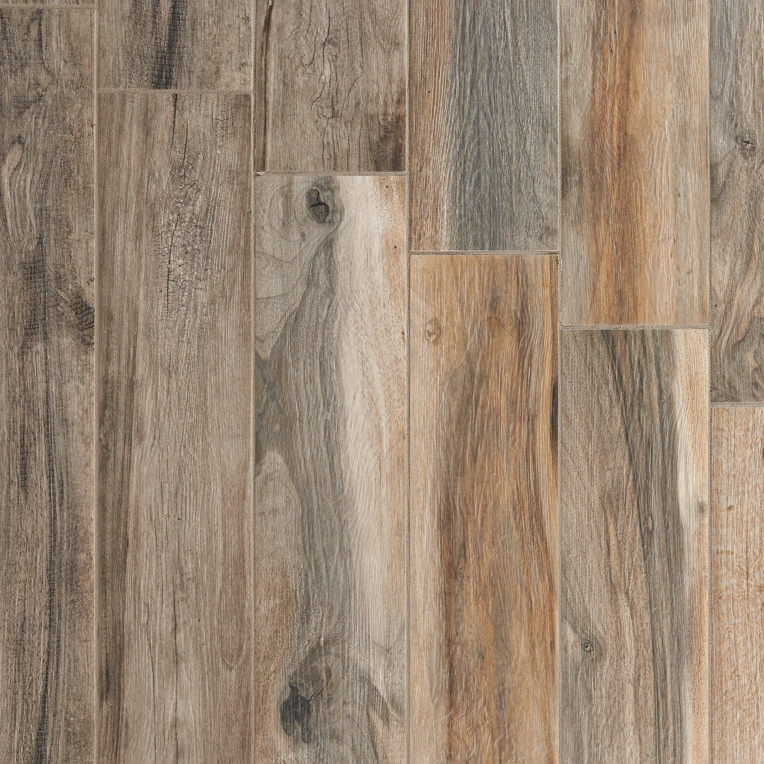 Soft Ash Wood Plank Porcelain Tile In 2019