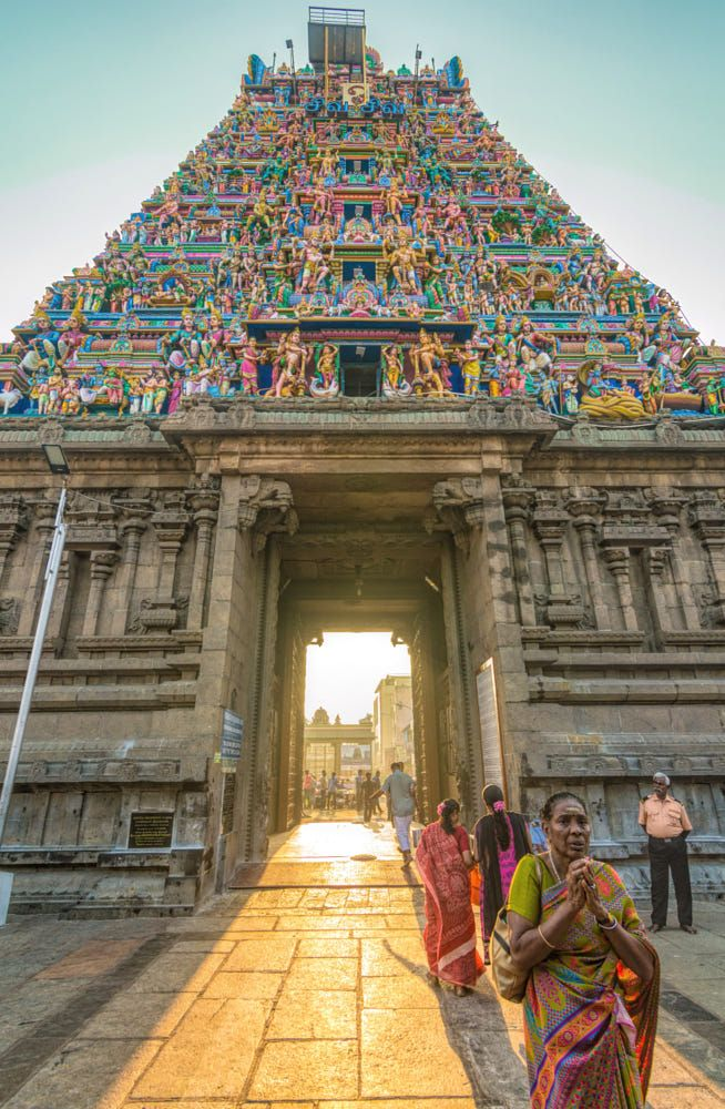 Kapaleeswarar Temple, Chennai...I have visited this temple 2 times..It's so divine😍