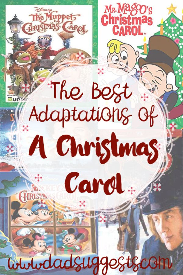 The 5 Best Versions of Dickens' A Christmas Carol | Christmas carol, The christmas carol movie ...