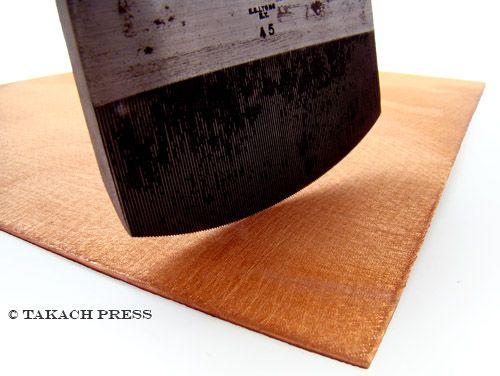 Mezzotint Plates Hand Rocked Copper Printmaking Plate Printmaking Print Making Prints