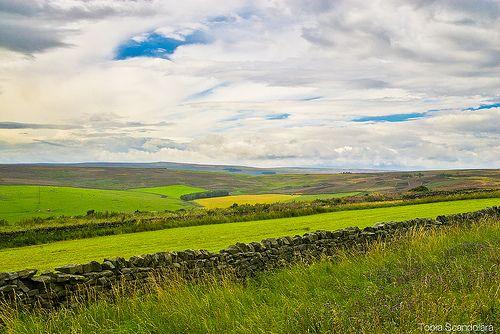 Northumberland National Park sconfinato