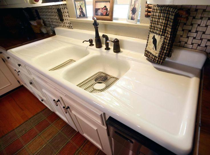 Superbe Kitchen Sink With Drainboard Undermount Elkay Stainless Steel And  Backsplash Design Sinks
