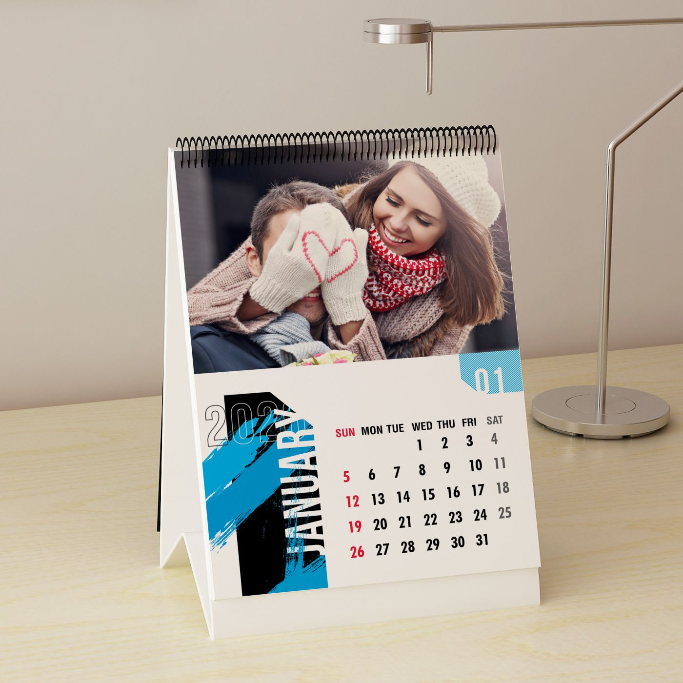 Personalized Desk Calendar For New Year 2020 Personalized Desk Calendar Personalized Desk Desk Calendars