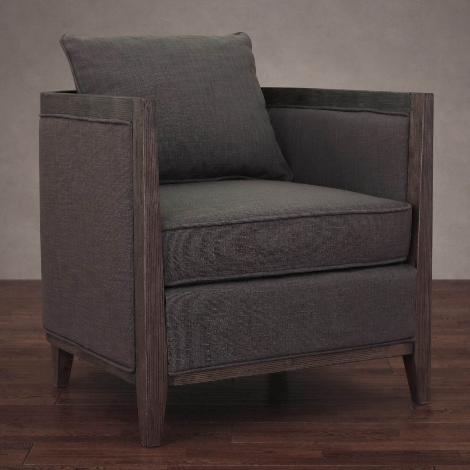 Superior Elliot Smoke Linen Lounge Chair By I Love Living