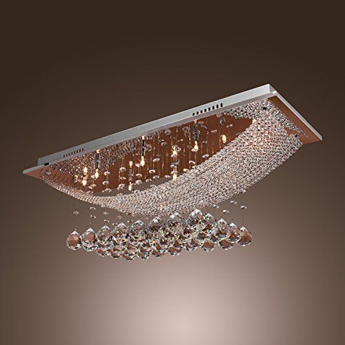 LightInTheBox® Luxuriant Crystal Pendant Light with 8 Lights ...