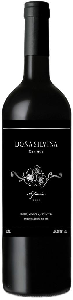 Dona Silvina Oak Aged Aglianico 2014 Bodega Krontiras Lujan De Cuyo Mendoza Terroir Rodeo Del Medio Cria Vodka Bottle Vodka Wine