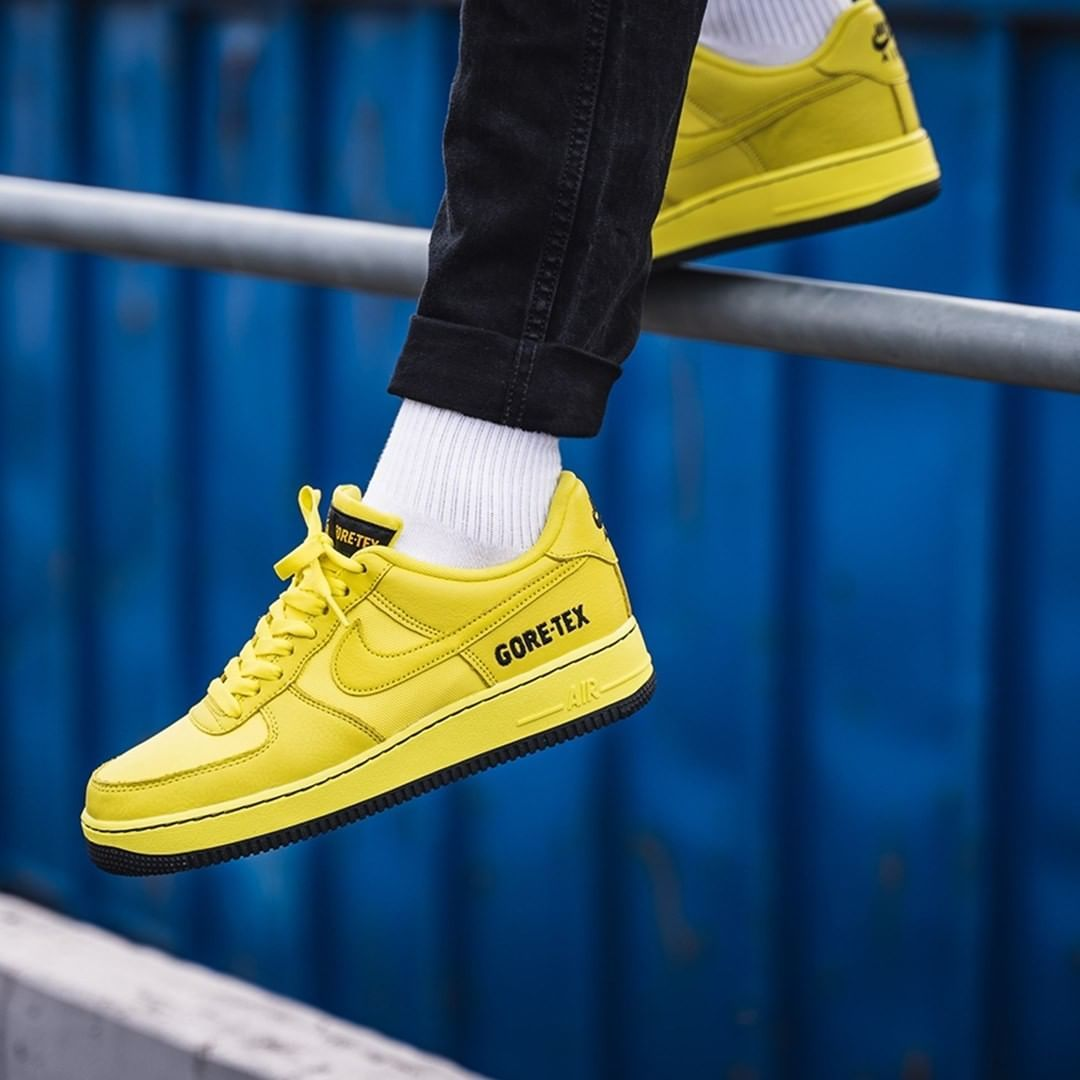 Nike Air Force 1 GTX in gelb CK2630 701 in 2019 | Nike air