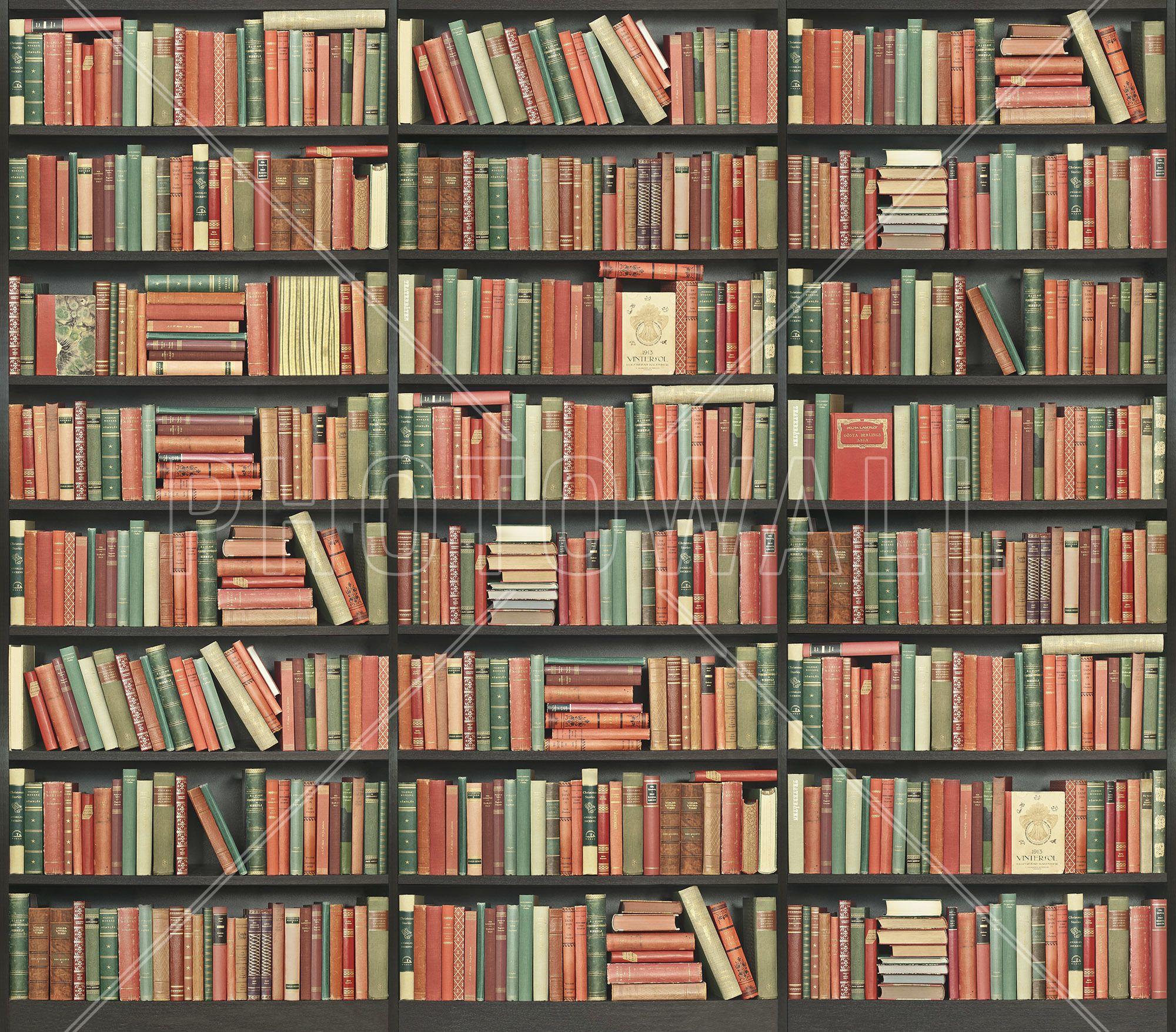 Wallpaper For Bookcase