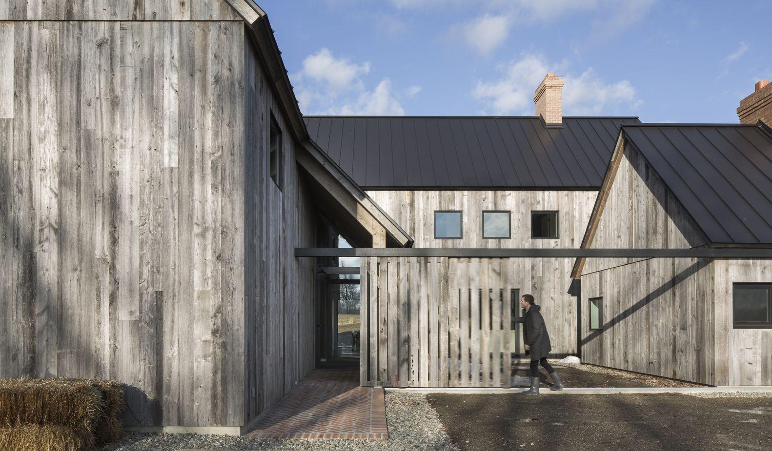Galer a de casa de campo townships lamas 12 archi for Casa moderna hampton hickory