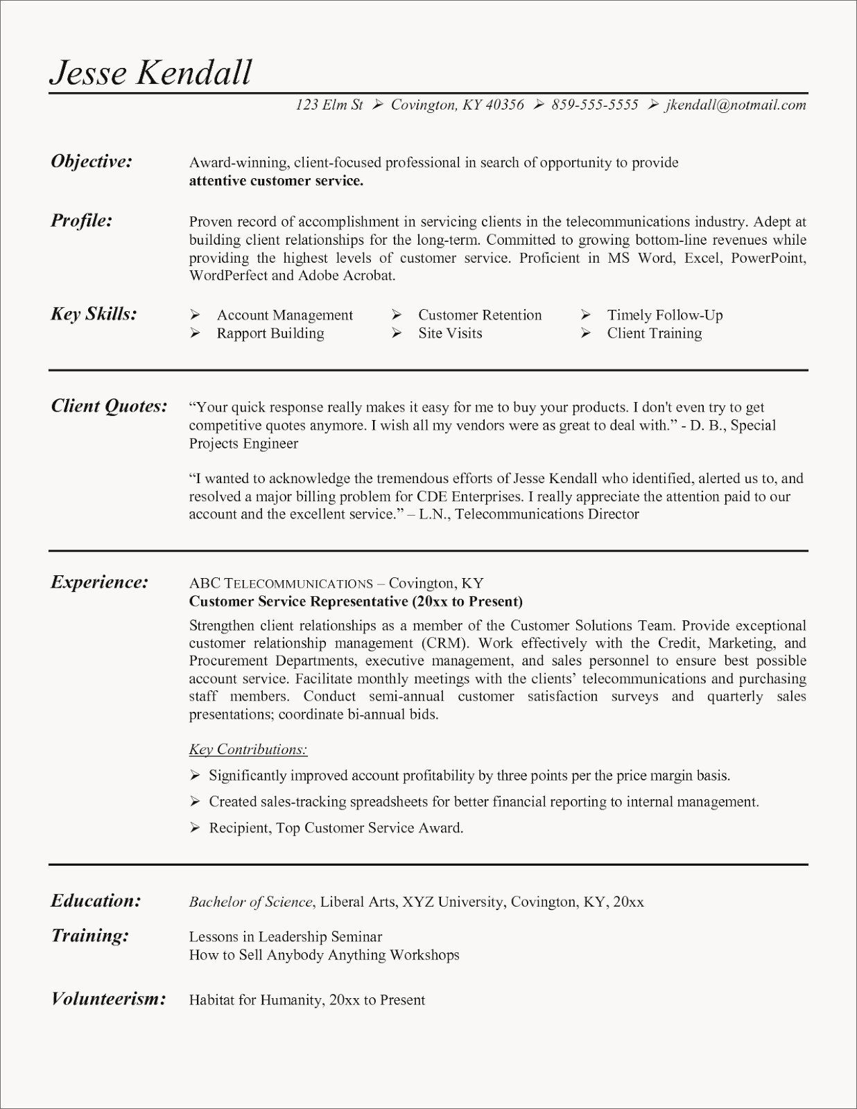 Shipping And Receiving Clerk Resume Luxury Resume For Customer Service Awesome Cashier Customer Service