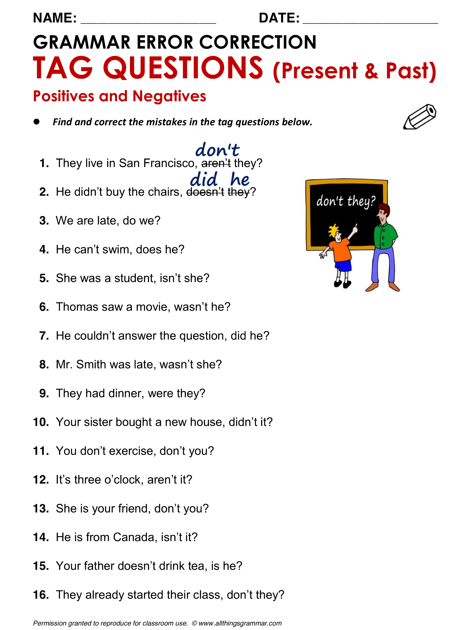 english grammar test questions Third grade (grade 3) grammar questions for your custom printable tests and worksheets in a hurry browse our pre-made printable worksheets library with a variety of activities and quizzes.