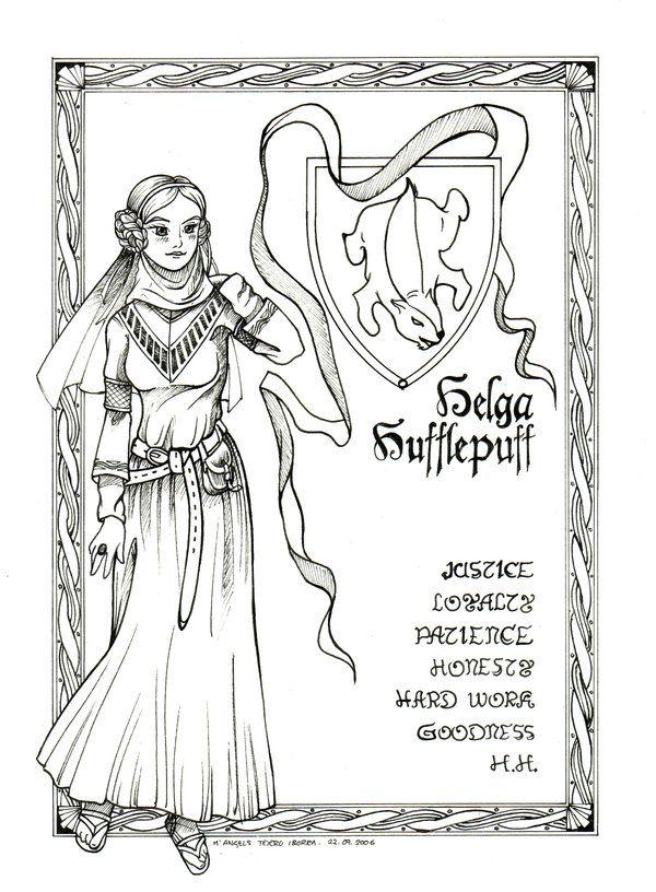 Helga Hufflepuff by shyangell on DeviantArt