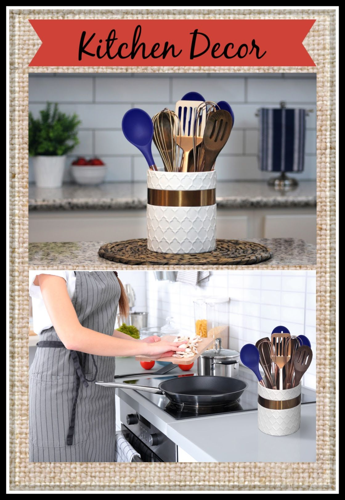 keep your favorite tools within reach and add warm and inviting style to your kitchen utens on farmhouse kitchen utensils id=45020
