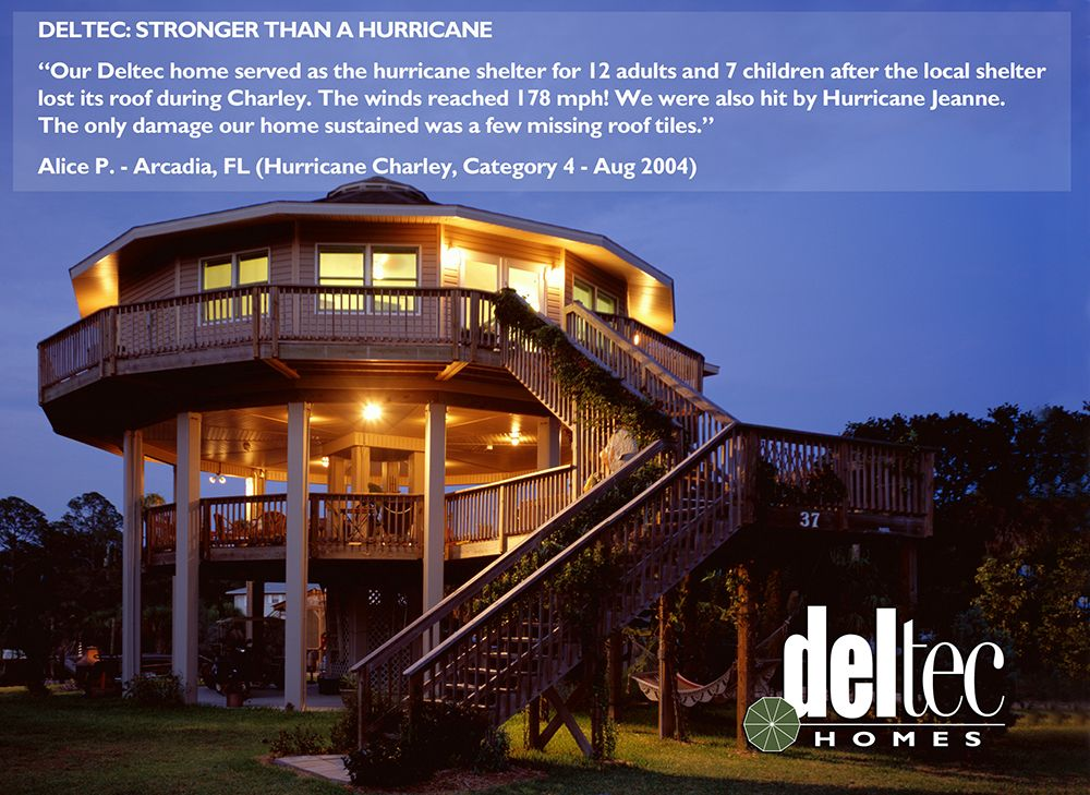 Hurricane Resistant Homes Wind Resistant Homes Custom Coastal Homes Deltec Homes Safe House Design House On Stilts Beach House Plans