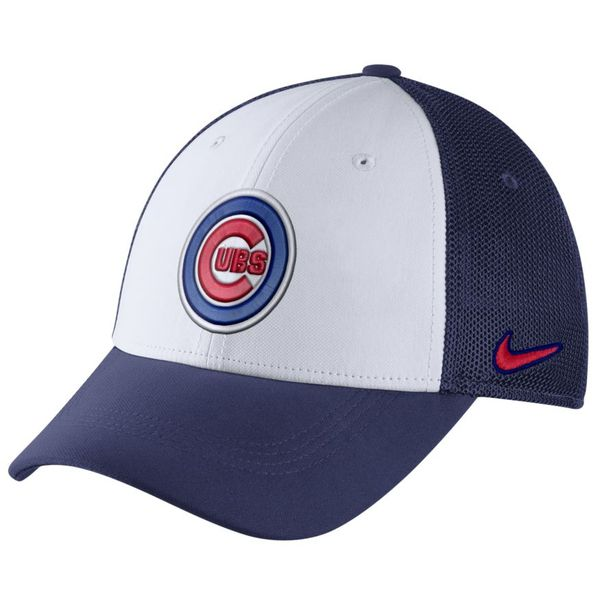 separation shoes 2f24f 8541b Chicago Cubs Legend 91 Swoosh Flex Fitted Hat  ChicagoCubs  Cubs  FlyTheW   MLB  ThatsCub  NIKE