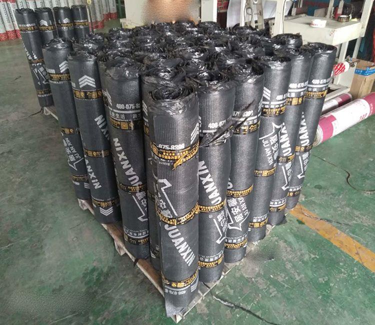 Sbs Asphalt Waterproof Membrane Use For Roof Building Roof Waterproofing Building Roof Asphalt Roof