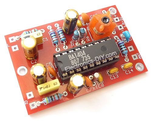 Ba1404 hi fi stereo fm transmitter kit radio pinterest arduino this is a diy radio transmitter it work pretty well i dont like how much phase noise it has it has some really bad spurs around the center frequency solutioingenieria Gallery