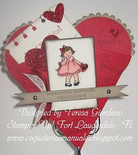 I love the Stampin Up Greeting Cards Kids set.