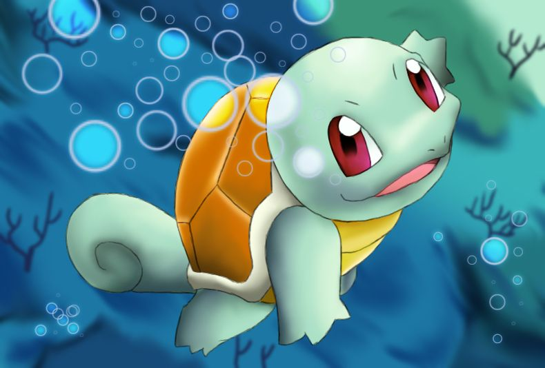 squirtle ^^ lol