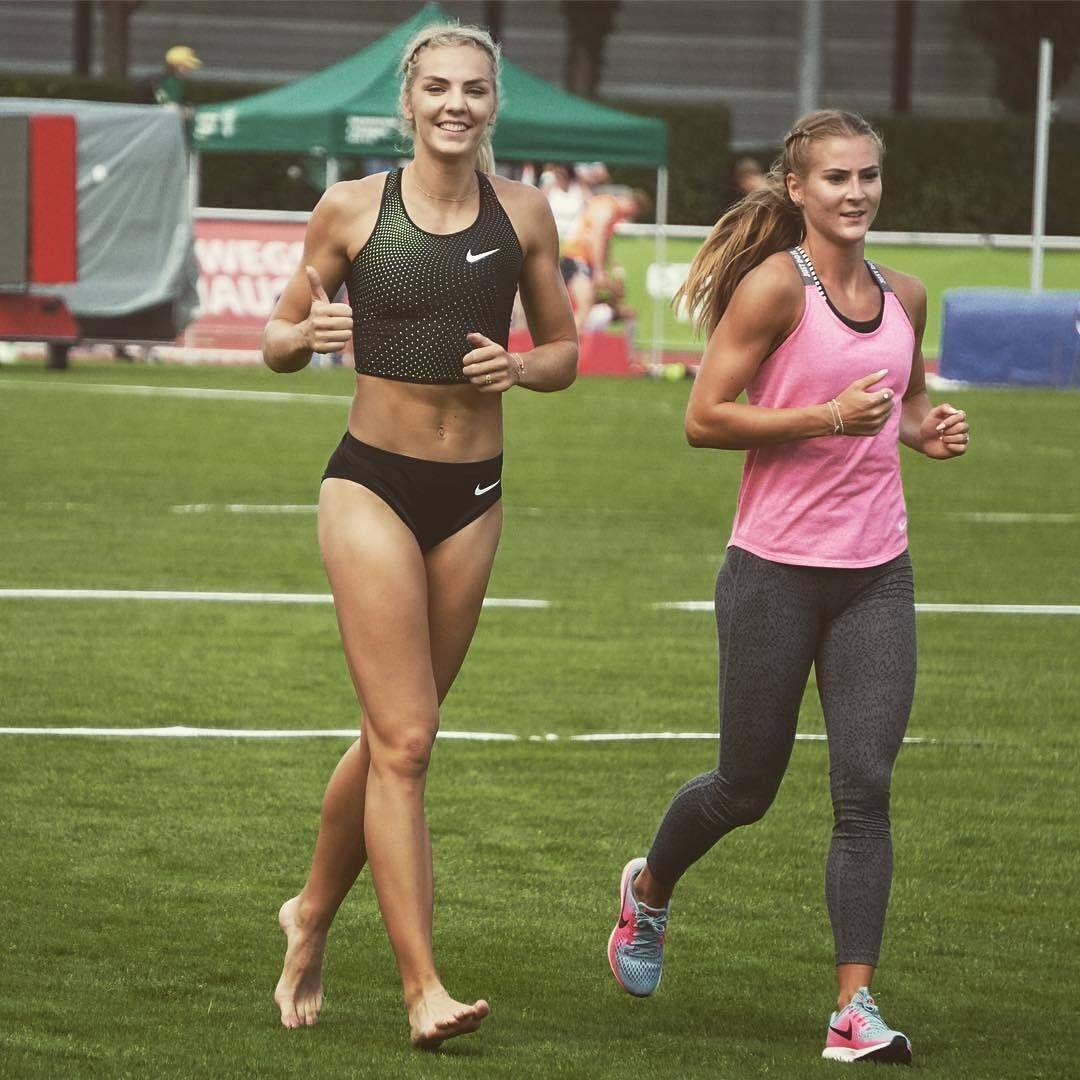 Sexy runner girl