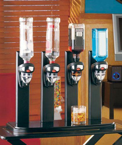 New Man Cave Countertop Liquor Bottle Dispenser Bar Butler Ebay