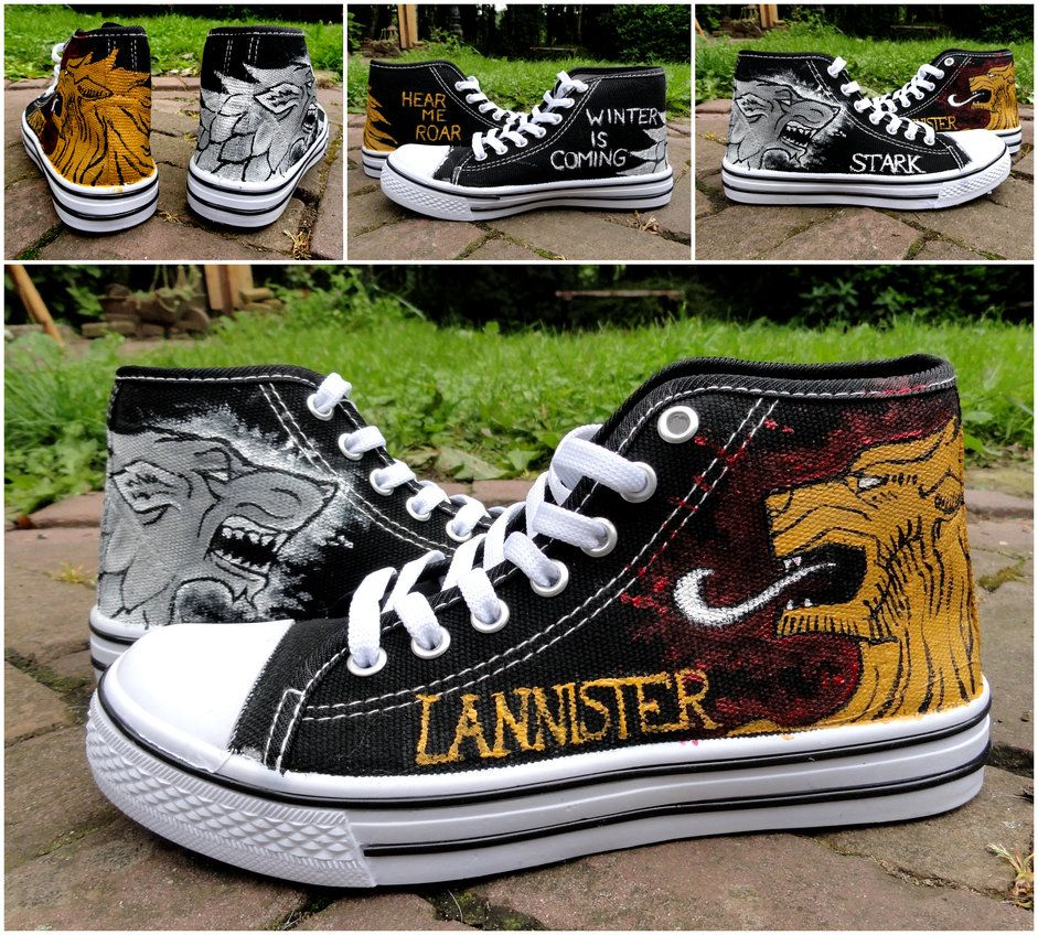 9a72116b5679 Game of Thrones Shoes by LacernellaRubra