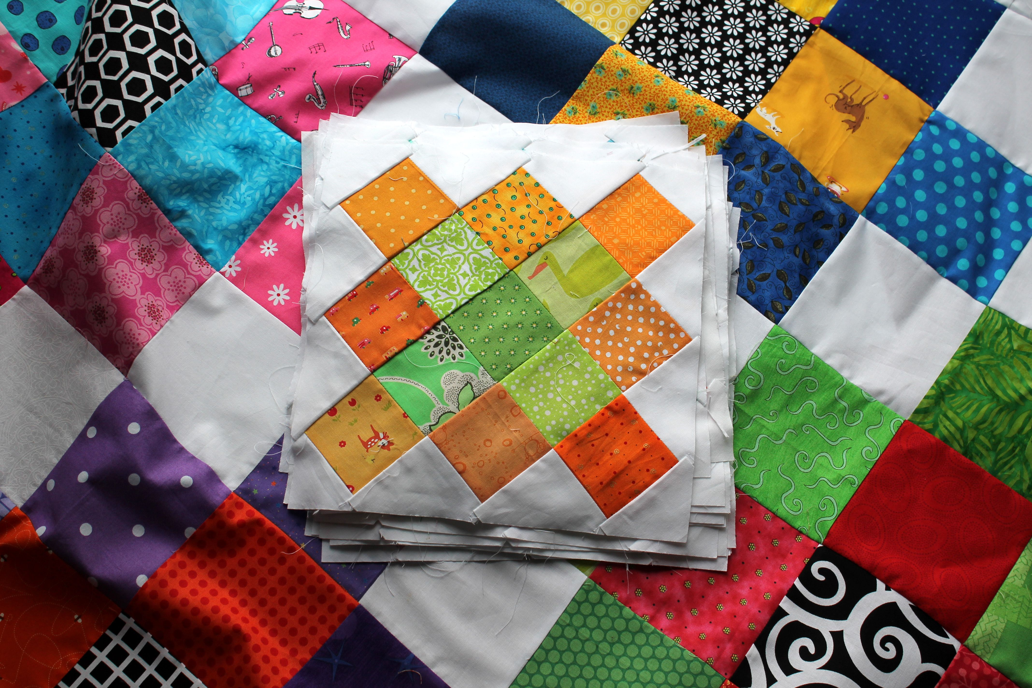 Granny Square Quilt.... wip Wednesday