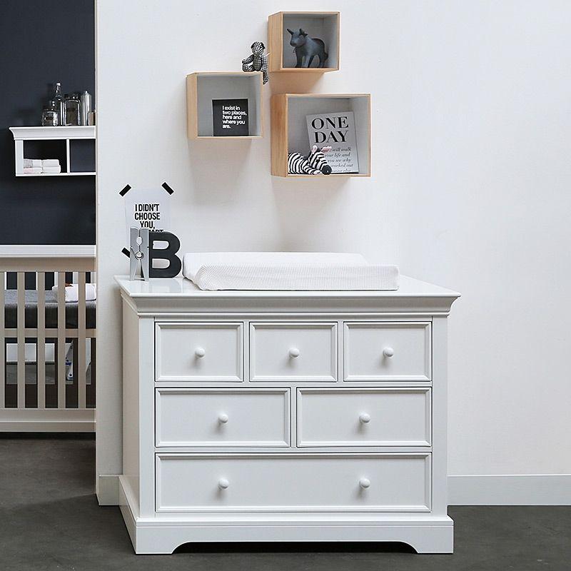 Kommode 120 x 60 trendy idimex kommode anrichte sideboard rondo schubladen kiefer massiv natur - Kidsmill babyzimmer ...