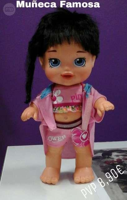 Muñeca Famosa original. De las que ya no hacen