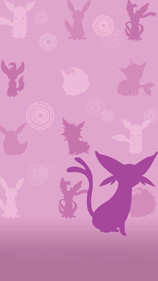 Espeon Wallpaper Pokemon Eeveelutions Pokemon Cute Pokemon Wallpaper