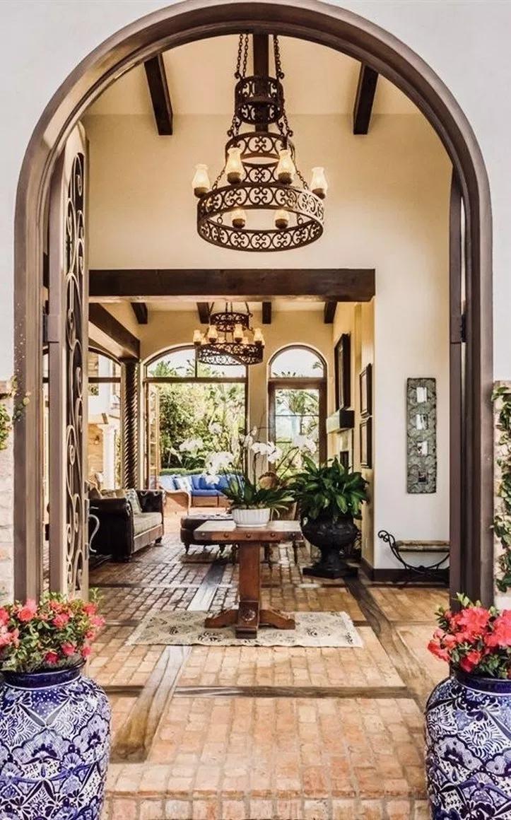 41 Amazing Modern Mediterranean House Design 2019 36 Spanish