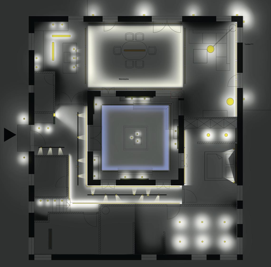 Onlineberatung Licht Lichtplanung Blitz Design Innenbeleuchtung