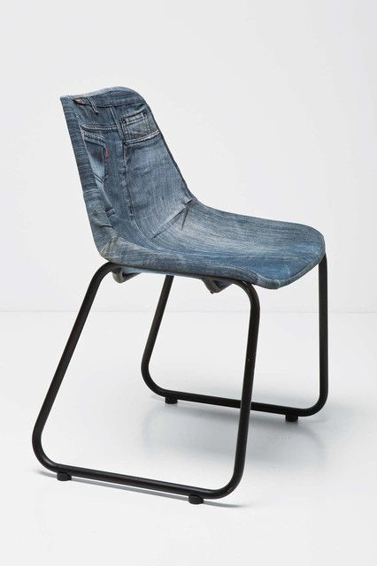 Superbe Denim Living Room Furniture: Denim Chair Modern Living Room Chairs