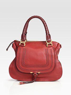 b6a2d517 Chloé Marcie Medium Leather Shoulder Bag - Celebrities who wear, use ...