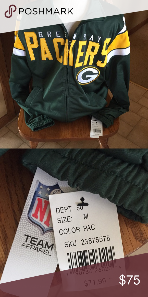 34c45d09 Nwt green bay packers jacket nwt in 2018 | My Posh Picks | Pinterest ...