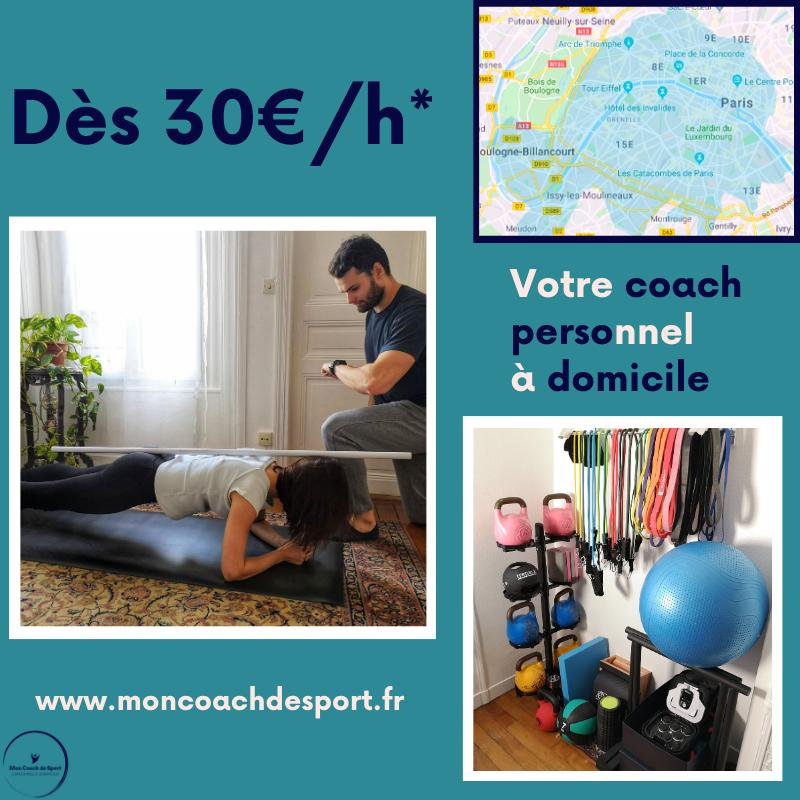 Offre Paris Une Heure De Coaching A Domicile Offerte En 2020 Coaching Sportif Coach Sportif Coach Sportif A Domicile