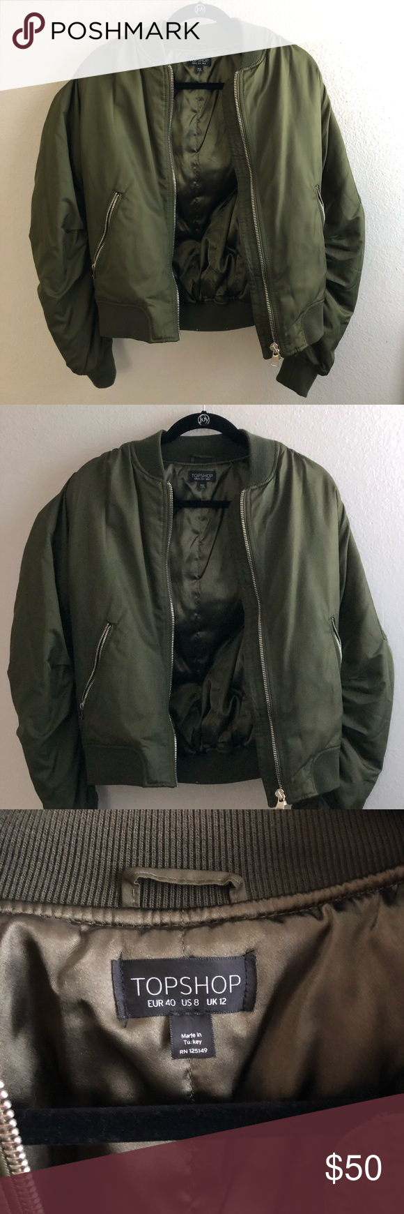 Topshop Army Green Bomber Jacket Army Green Bomber Jacket Green Bomber Jacket Bomber Jacket [ 1740 x 580 Pixel ]