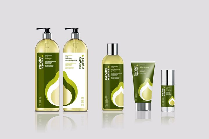 Everyday Organics brand identity & packaging by Believe in