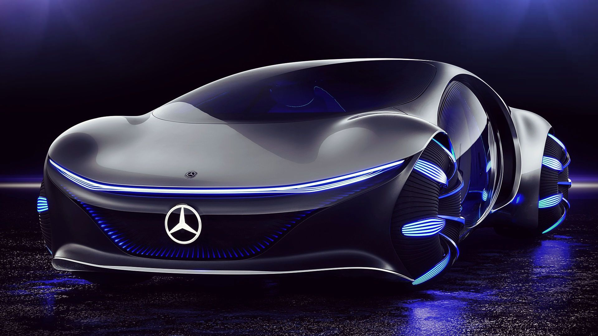 Mercedes Benz Vision Avtr Concept 2020 Specs Wallpaper In 2020 Mercedes Benz Super Luxury Cars Futuristic Cars