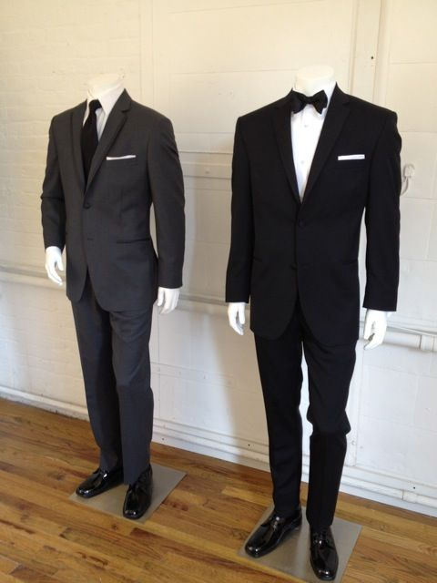 33d9b02ee8e We're Registered For Tuxedos! Vera Wang's Black Tuxedo! Complete with Black  Bow-Tie! #VeraWang #Tuxedos #Classic