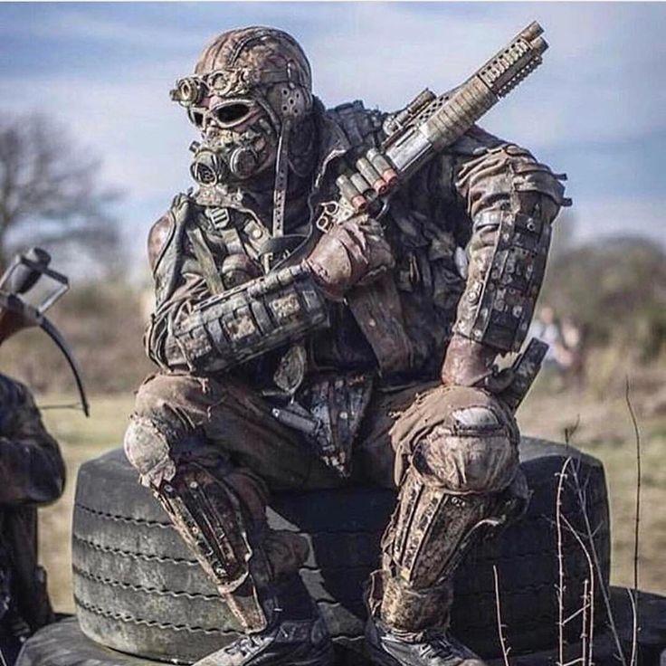 Apocalyptic Soldier Pics: Post-Apocalyptic Fashion