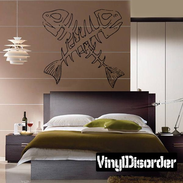 Fish Wall Decal - Vinyl Decal - Car Decal - DC138