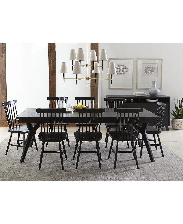 Furniture Bensen Dining Furniture 9 Pc Set Expandable Dining