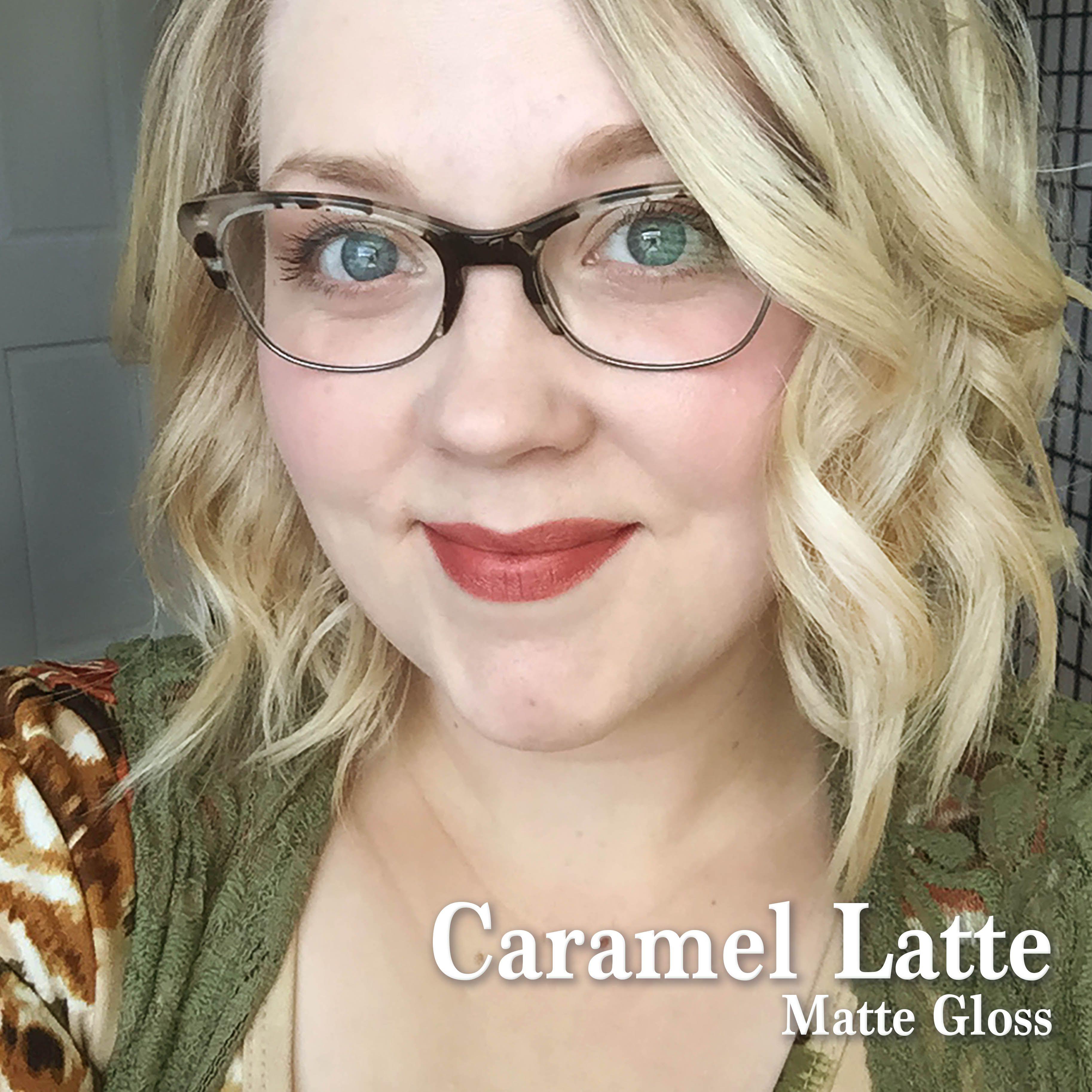 Caramel Latte LipSense, Matte Gloss