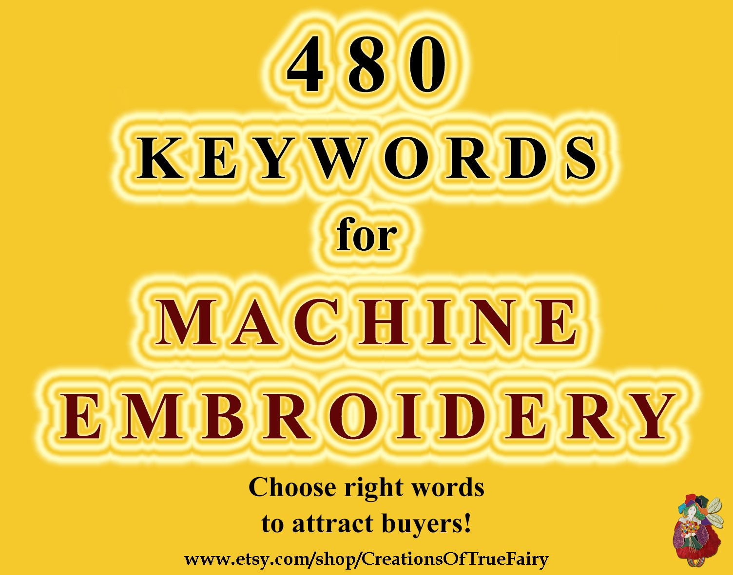 480 Keywords For Machine Embroidery Key Words Search Optimization