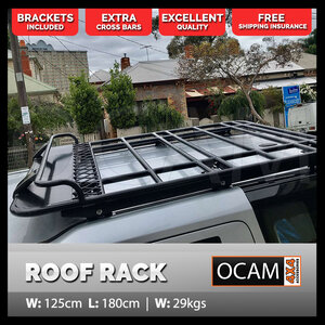 Aluminium Roof Top Tent Rack For Land Rover Discovery 3 4 1 8m In 2020 Roof Top Tent Top Tents Aluminum Roof