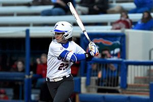 Nicole DeWitt had three hits on Saturday.SATURDAY MARCH 28, 2015 Florida Wins Second Straight Road Series with 16-2 Victory over Bulldogs