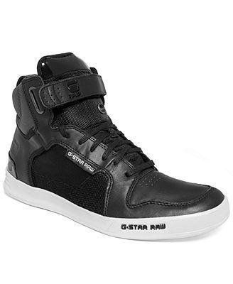 G-Star RAW Yard Bullion Hi-Top Sneakers - All Men's Shoes - Men - Macy's