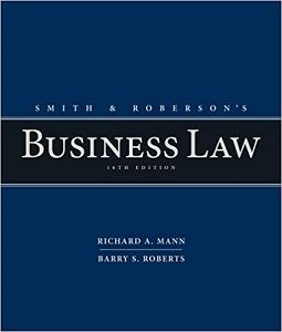Smith And Roberson S Business Law 16th Edition Test Bank Mann Roberts Banks Solutions Manual Textbooks Nursing Sample Free Pdf