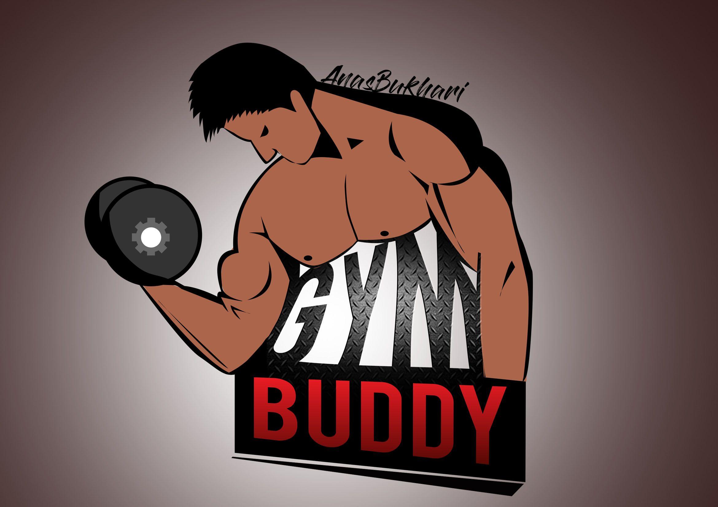 GYM buddy  logo  Pinterest  Gym buddy